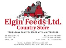 Elgin Feeds Ltd. Country Store