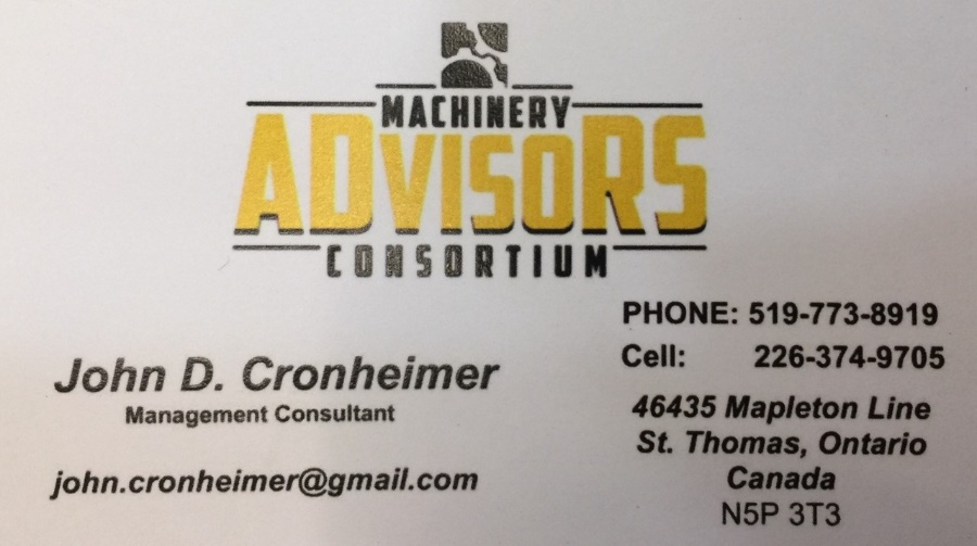 Machinery Advisors Consortium